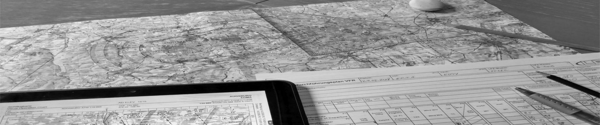 Dezentraler Navigationsflug Österreich